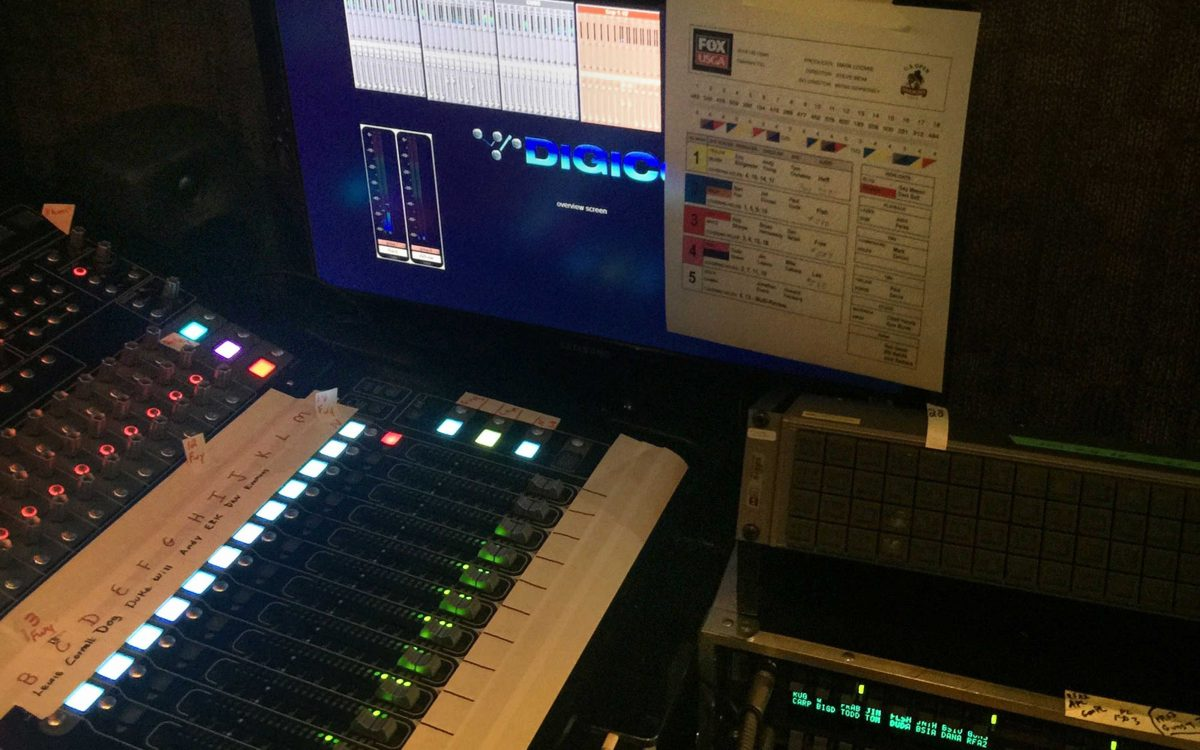 DiGiCo's SD10B Lets CP Communications Take The US Open On The Fly(pack)