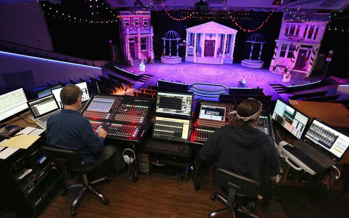"DiGiCo Trio Fits West End Assembly Of God's Church Services And Theatrical Needs To A ""T"""