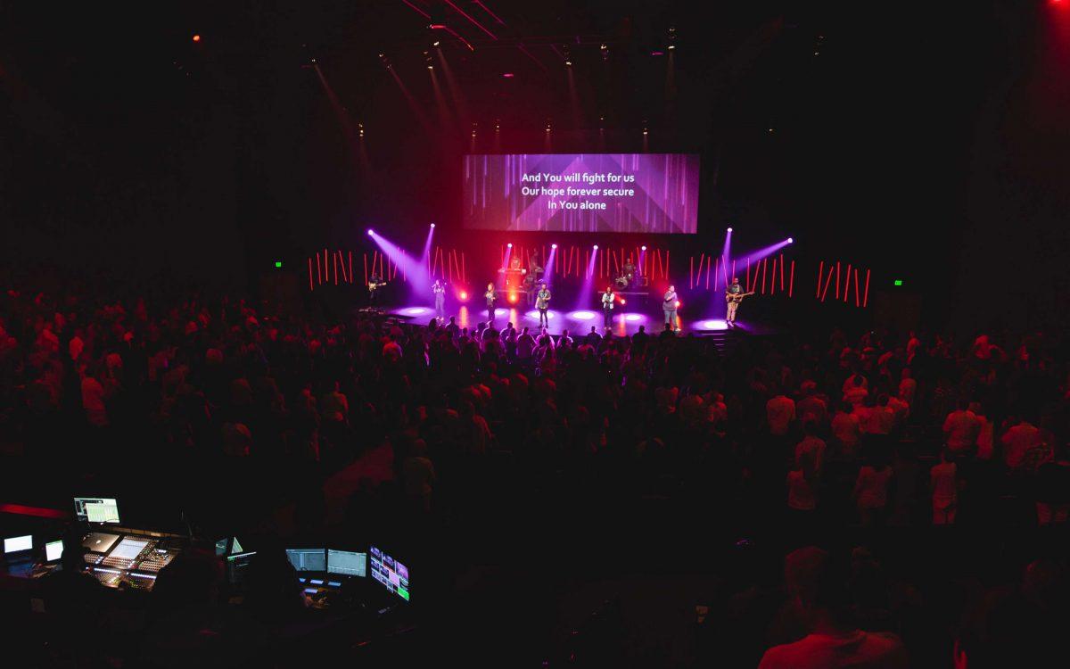 Worship Center Celebrates 40th Anniversary With New DiGiCo Desk