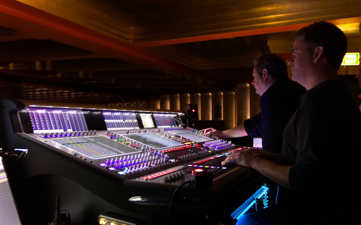 DiGiCo SD7T A Dream For West End Show