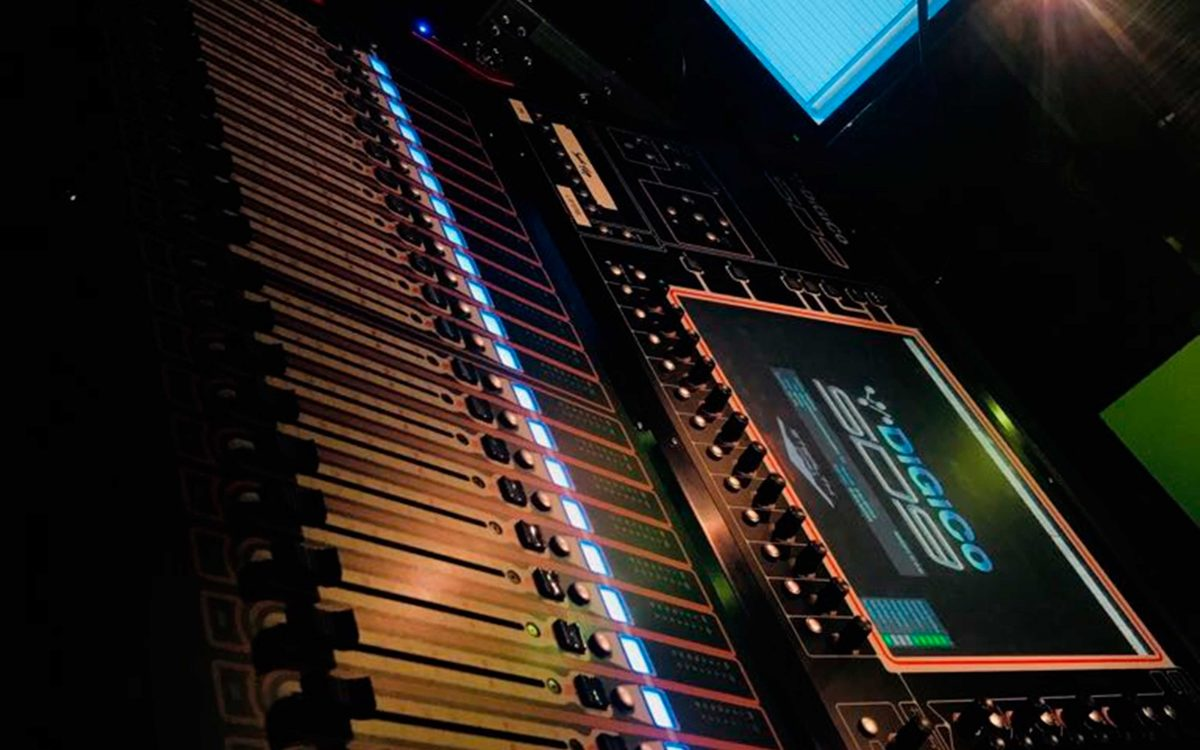 DiGiCo Upgrade For Theatre of Marcellus