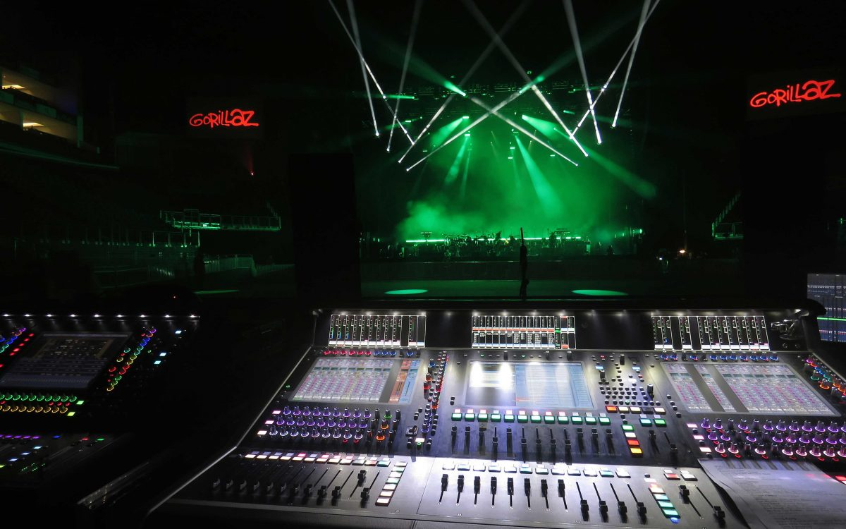 Gorillaz Hit New Heights With DiGiCo