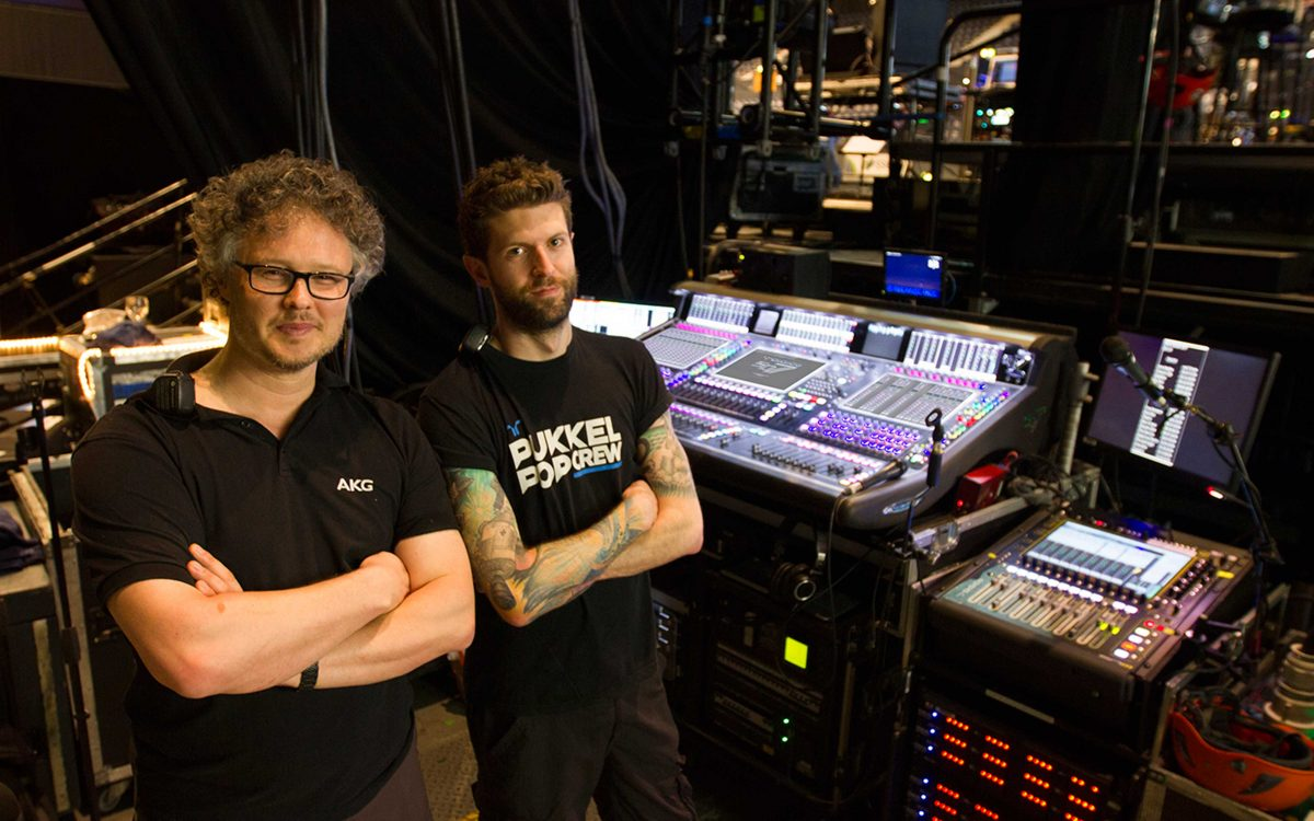 DiGiCo Channel Count Essential For Hans Zimmer Tour