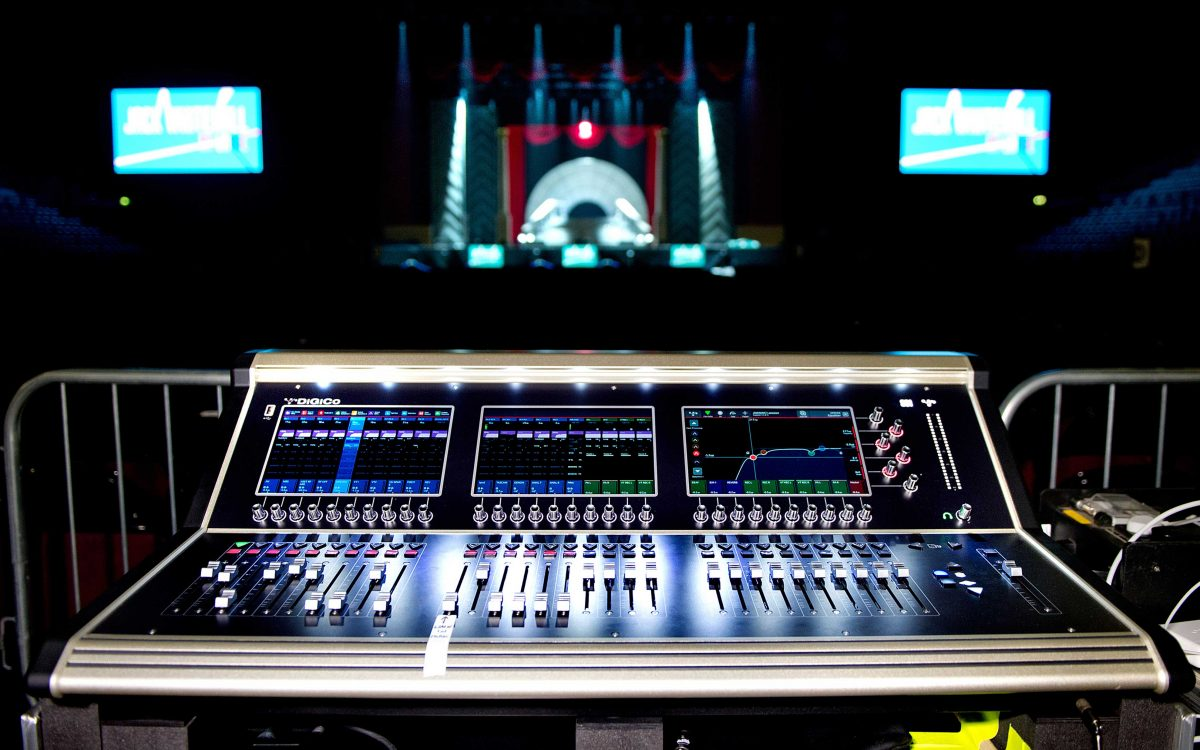 DiGiCo At Large With Jack Whitehall