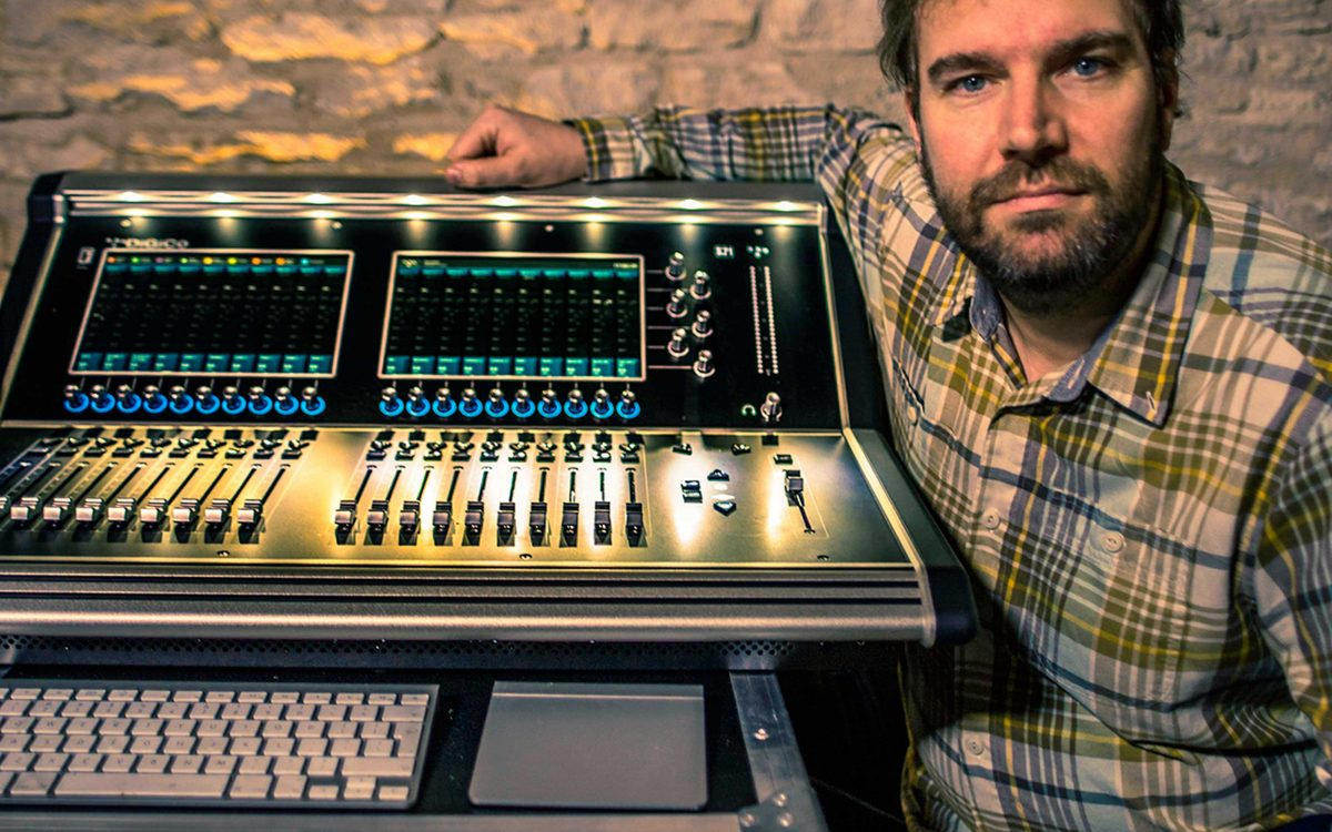 DiGiCo S21 Settles In At Wincraft Studios