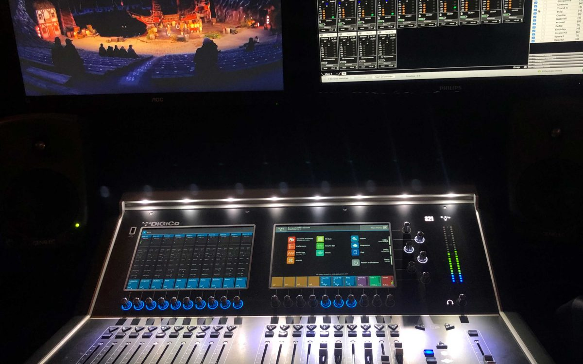 DiGiCo Makes Complex Distribution Simple For Kaptein Sabeltann