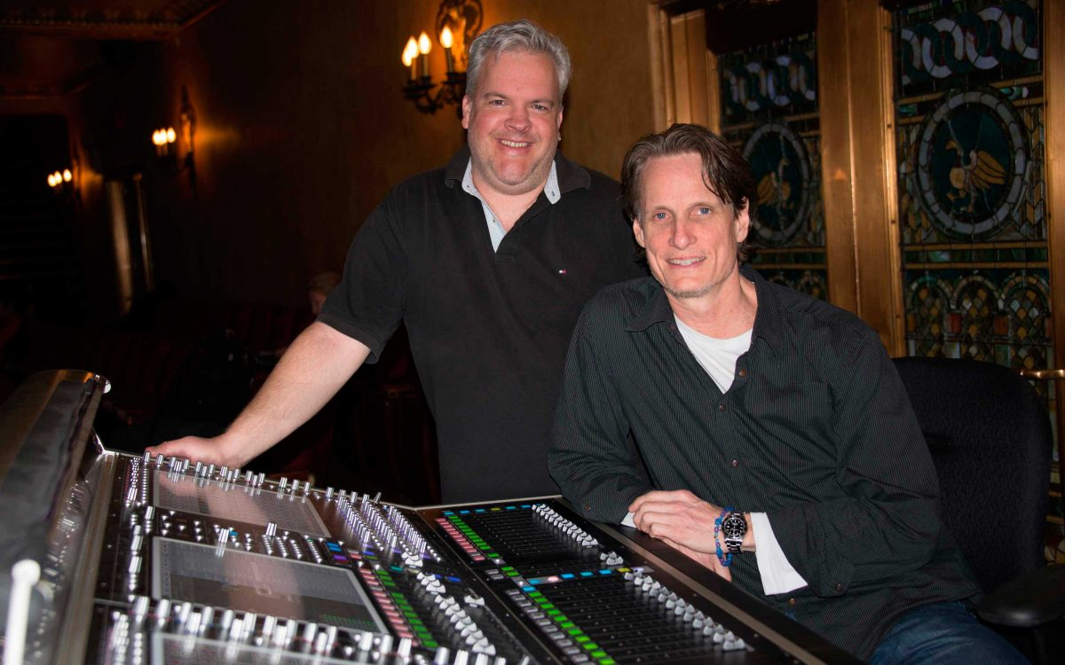 DiGiCo Is The Go-To For David Patridge on Broadway