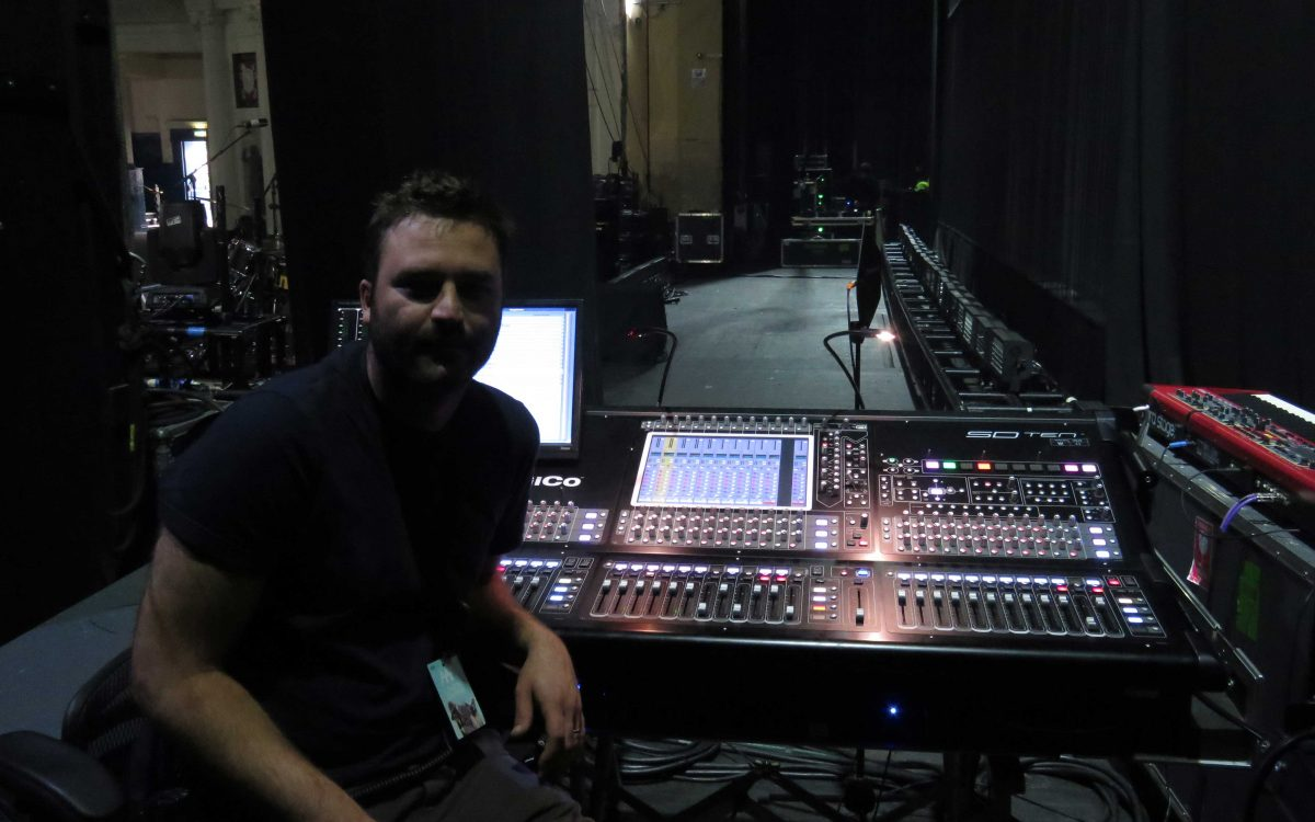 Triplex Relies On DiGiCo For London Grammar Tour