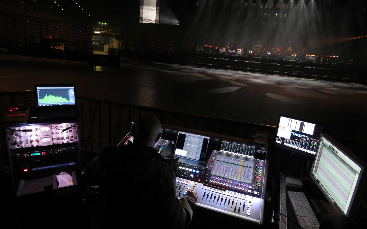 DiGiCo Proves Its Worth For Liam Gallagher