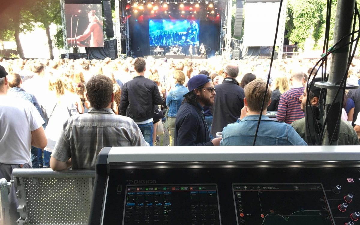 DiGiCo's S21 Makes A Flying Start On Lukas Graham Tour