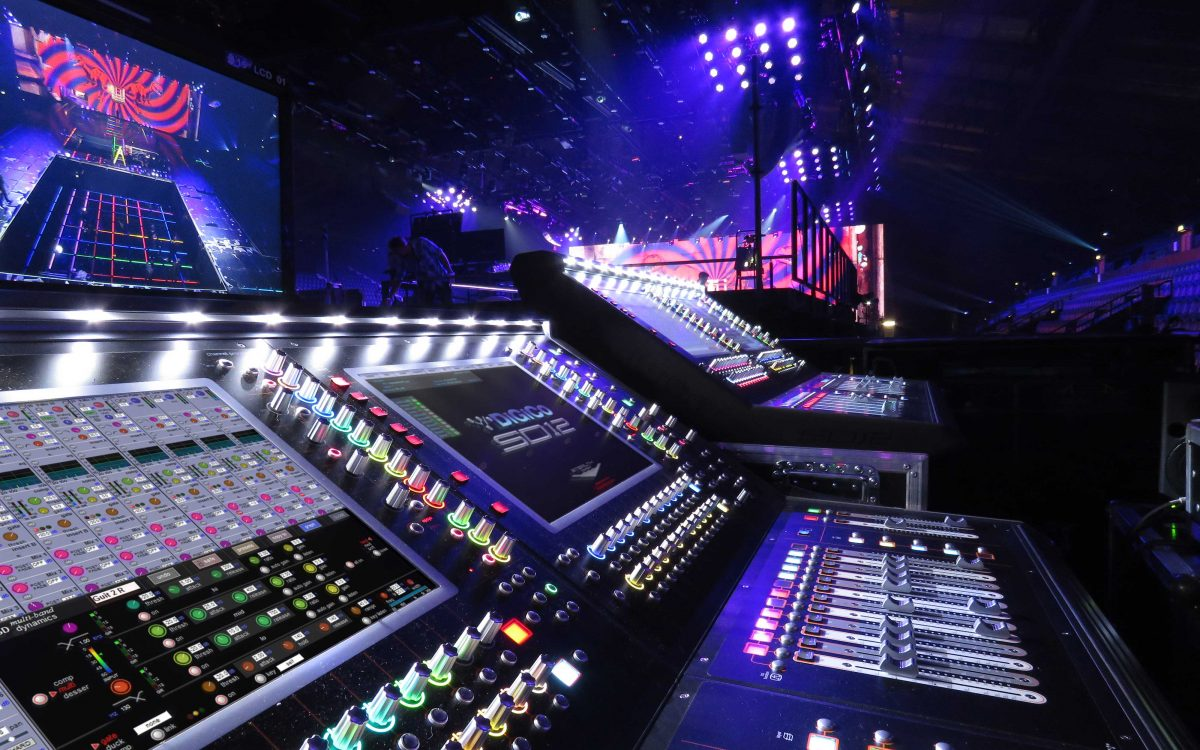 DiGiCo In Full Control At MTV EMAs