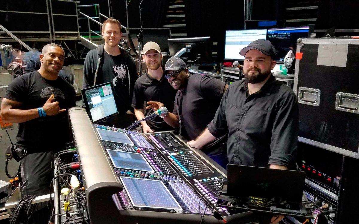 DiGiCo And Major Tom Make Light Work Of The Touring World
