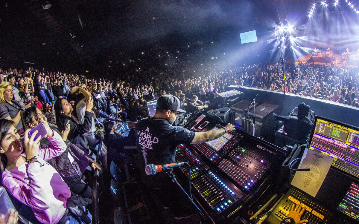 DiGiCo Clarity & Transparency Essential For Maluma Pretty Boy, Dirty Boy World Tour
