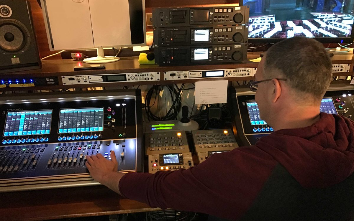 Rhinestones And Sequins For DiGiCo S21 At Moulin Rouge