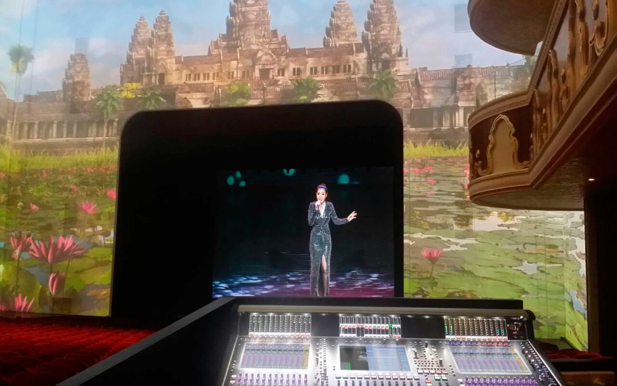 DiGiCo SD7s Find New Home In One Of Cambodia's Biggest Theatres