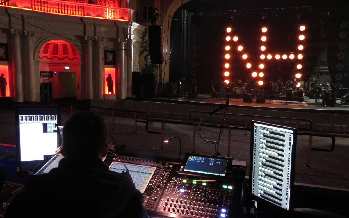 DiGiCo Points Niall Horan In The Right Direction