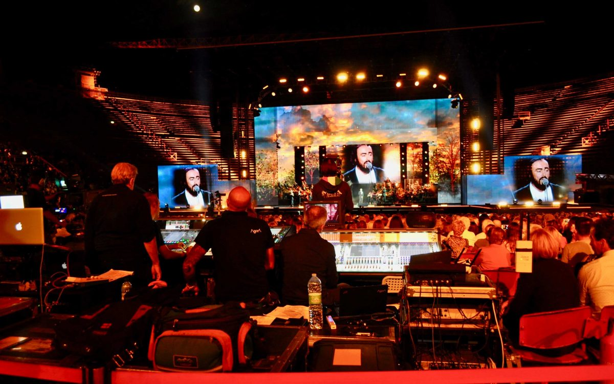 DiGiCo Sextet At Pavarotti Tribute Show
