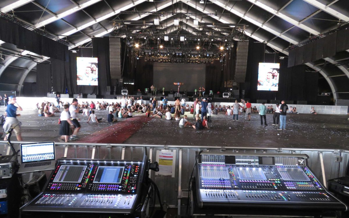 DiGiCo Makes Life Easy At Pukkelpop