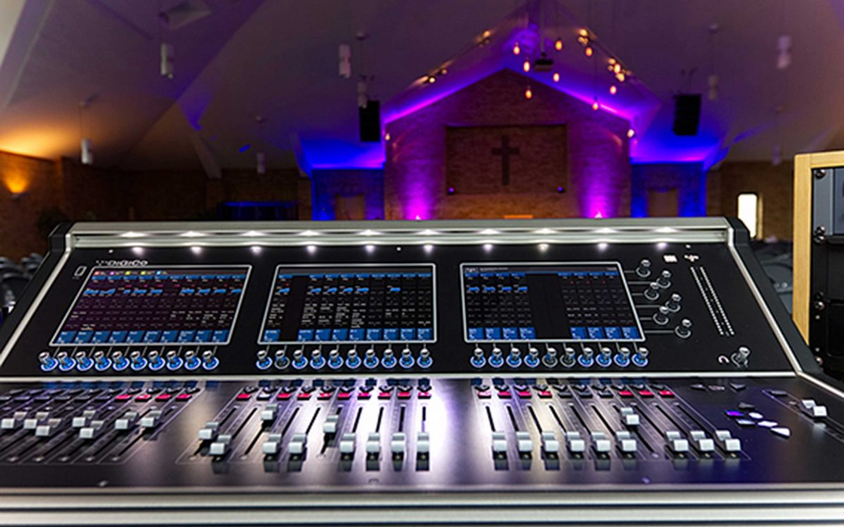 Reigate Baptist Church Makes Wise Investment In DiGiCo S31