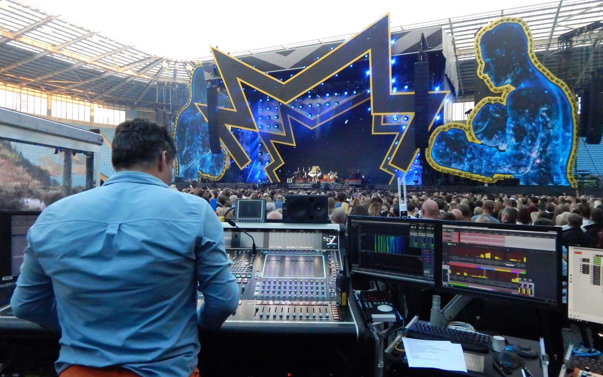 DiGiCo Boxes Clever For Robbie Williams Heavy Entertainment Show