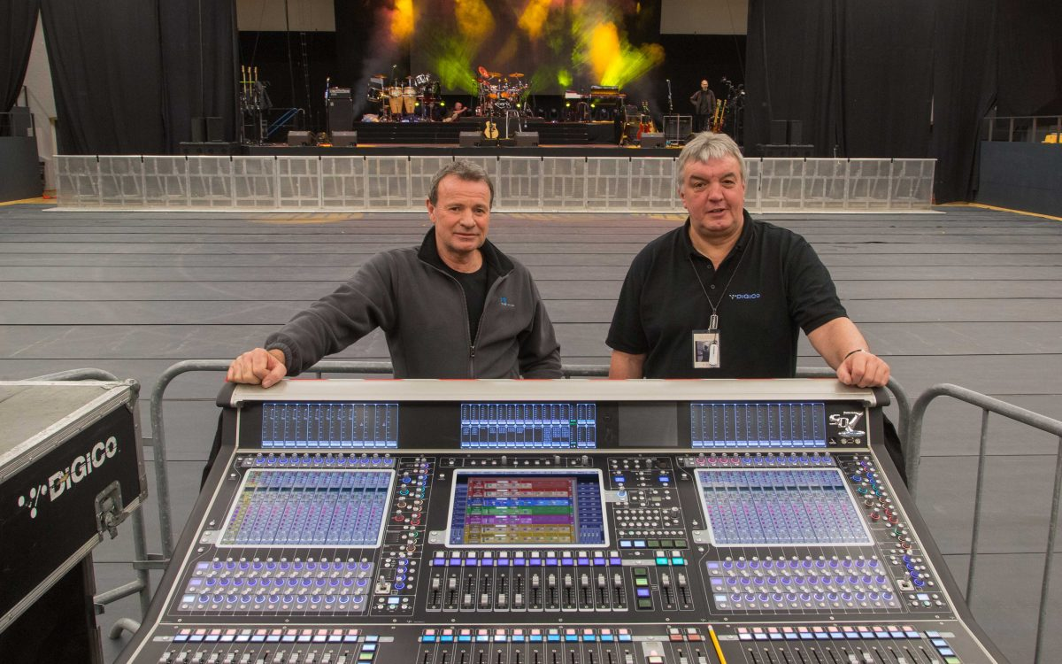 DiGiCo Teaches Old Dog New Tricks