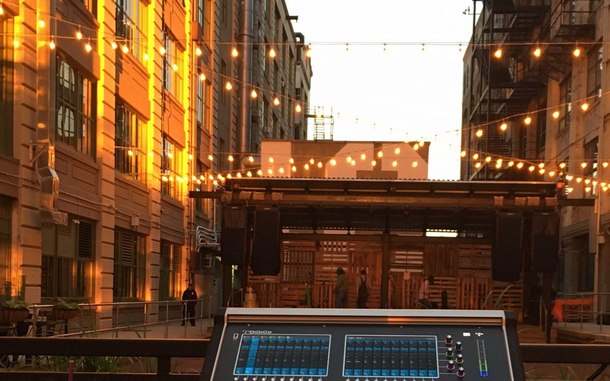 DiGiCo And Bose Shine For 'Sunset Sounds' In Brooklyn