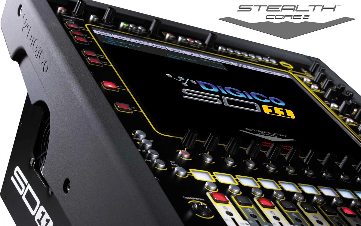 Small gets bigger as DiGiCo SD11 & SD11i receive Stealth Core 2 upgrade