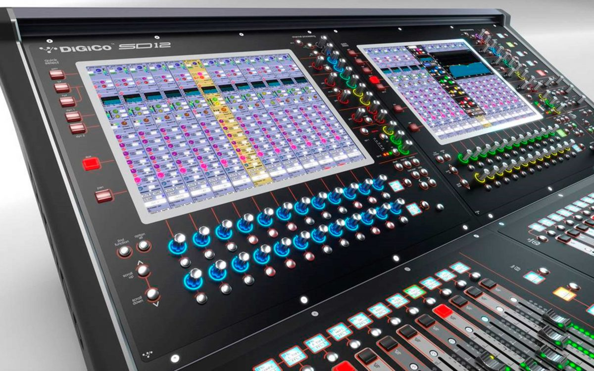 DiGiCo Goes Global With NEW SD12