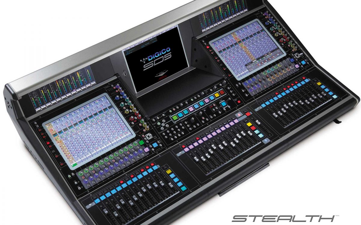 DiGiCo releases Stealth Core2 for SD5 and new SD5cs system