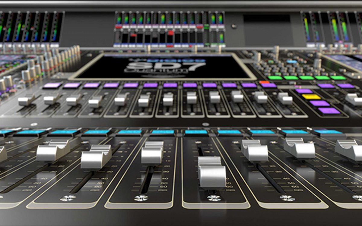 DiGiCo's SD7 Takes A Quantum Leap At AES
