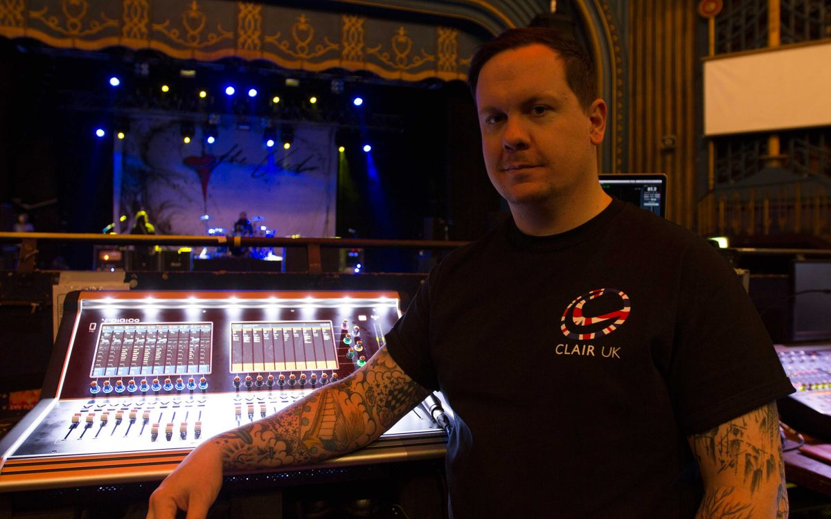 DiGiCo S21 Get (The) Used On Rock Band Tour