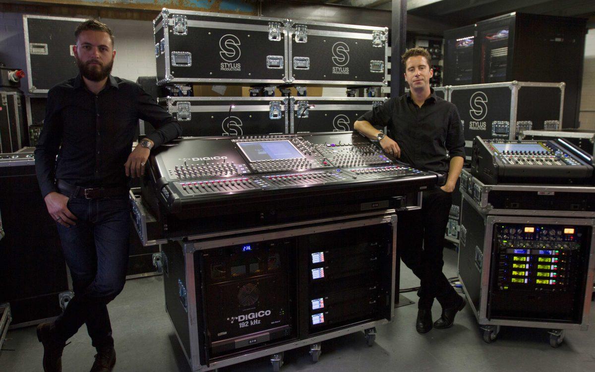 Stylus Productions Makes First Investment In DiGiCo Consoles