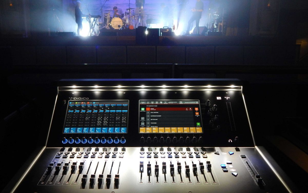 Saving Space DiGiCo S21s The Perfect Fit For Tom Chaplin Tour