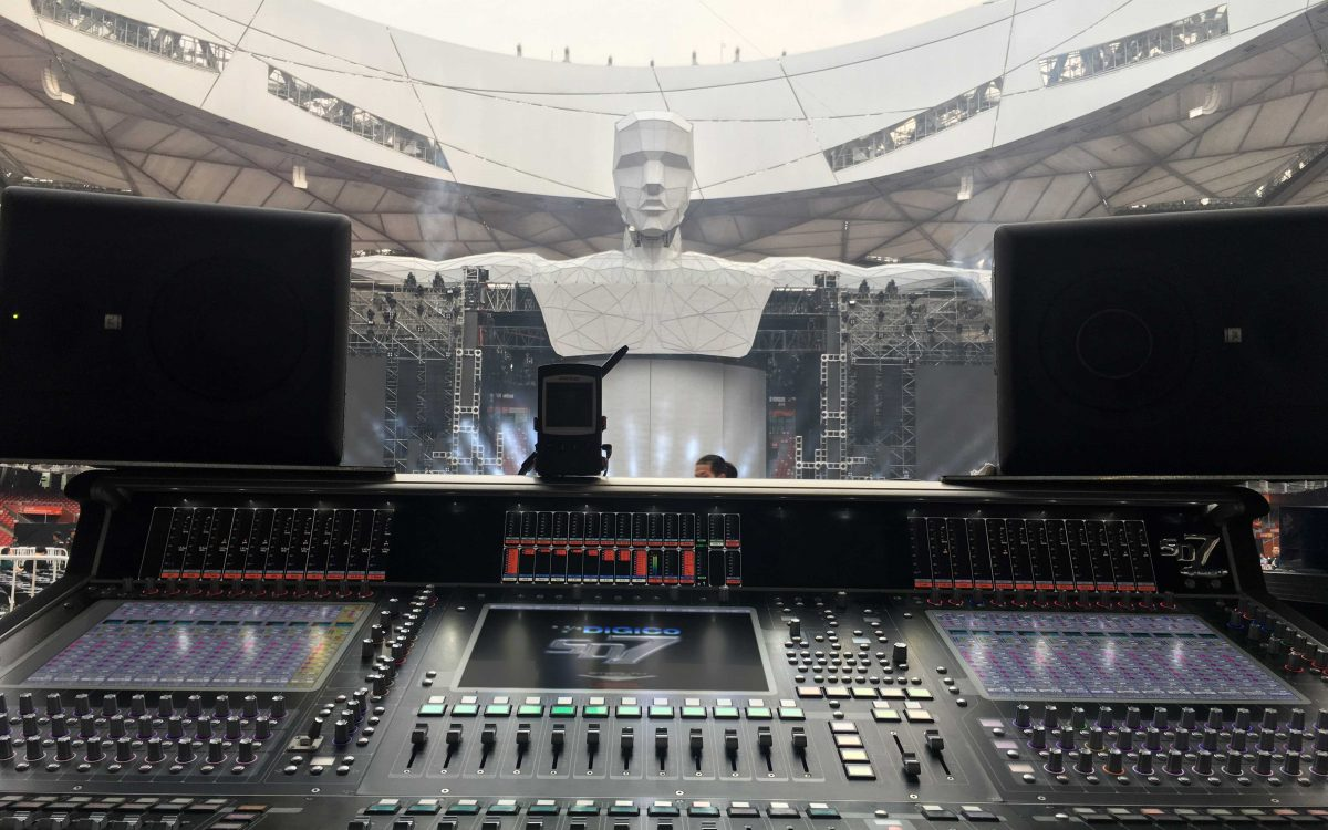 DiGiCo Chosen For Wang Feng The Times Tour