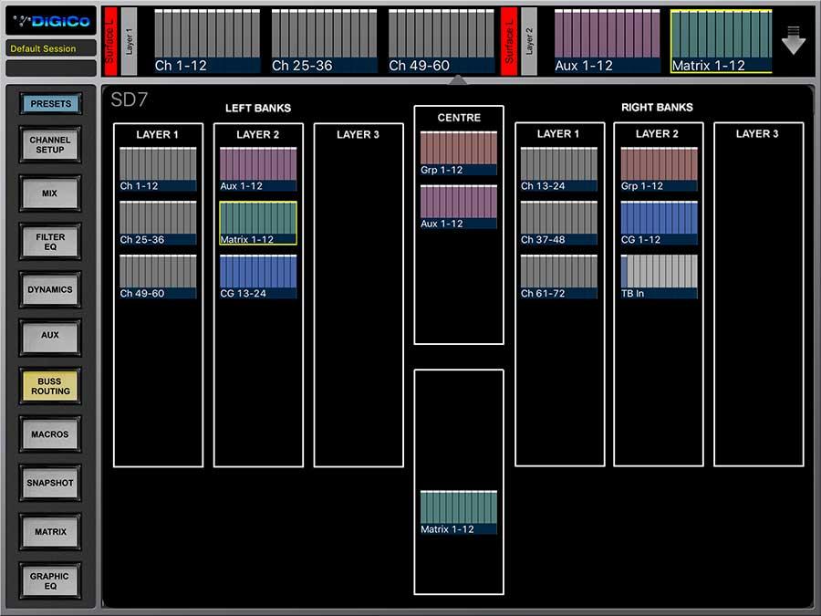 SD-Range Core2 App - DiGiCo