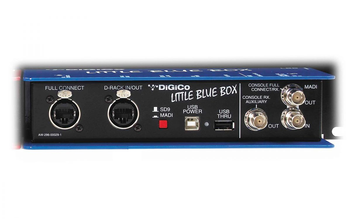 Little Blue Box - DiGiCo