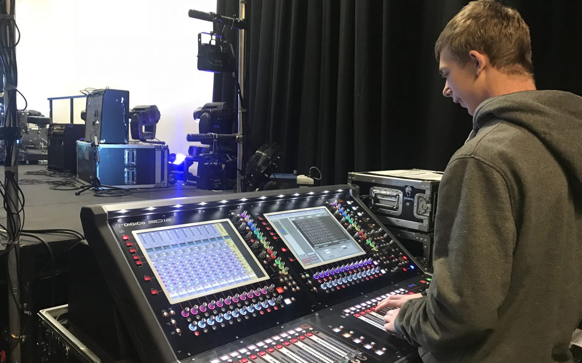 The BRIT School Gets Students Industry Ready With DiGiCo SD12 Consoles