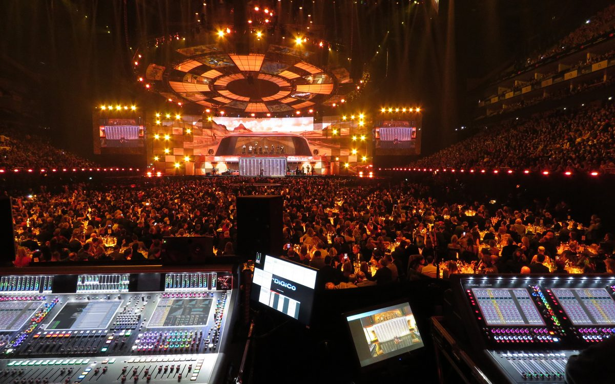 DiGiCo Wins Across The Board At The BRITs