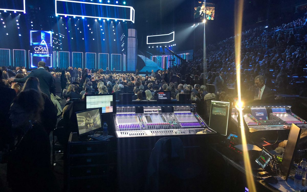 DiGiCo Consoles Keep The Country Music Association Awards Covered