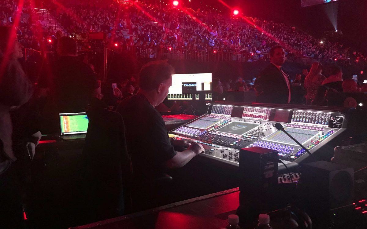 DiGiCo Consoles Assure Un Sonido Increible for Latin GRAMMY Awards