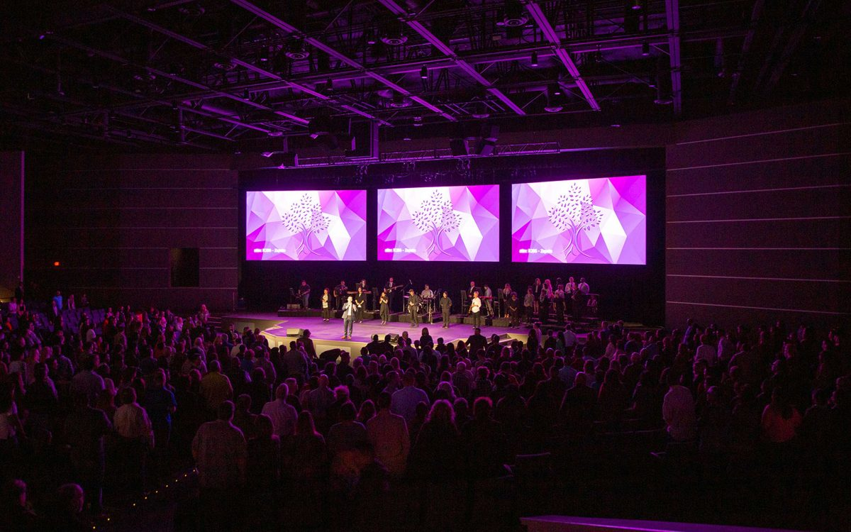 DiGiCo Technology Enhances Odessa Christian Faith Center's New Sanctuary