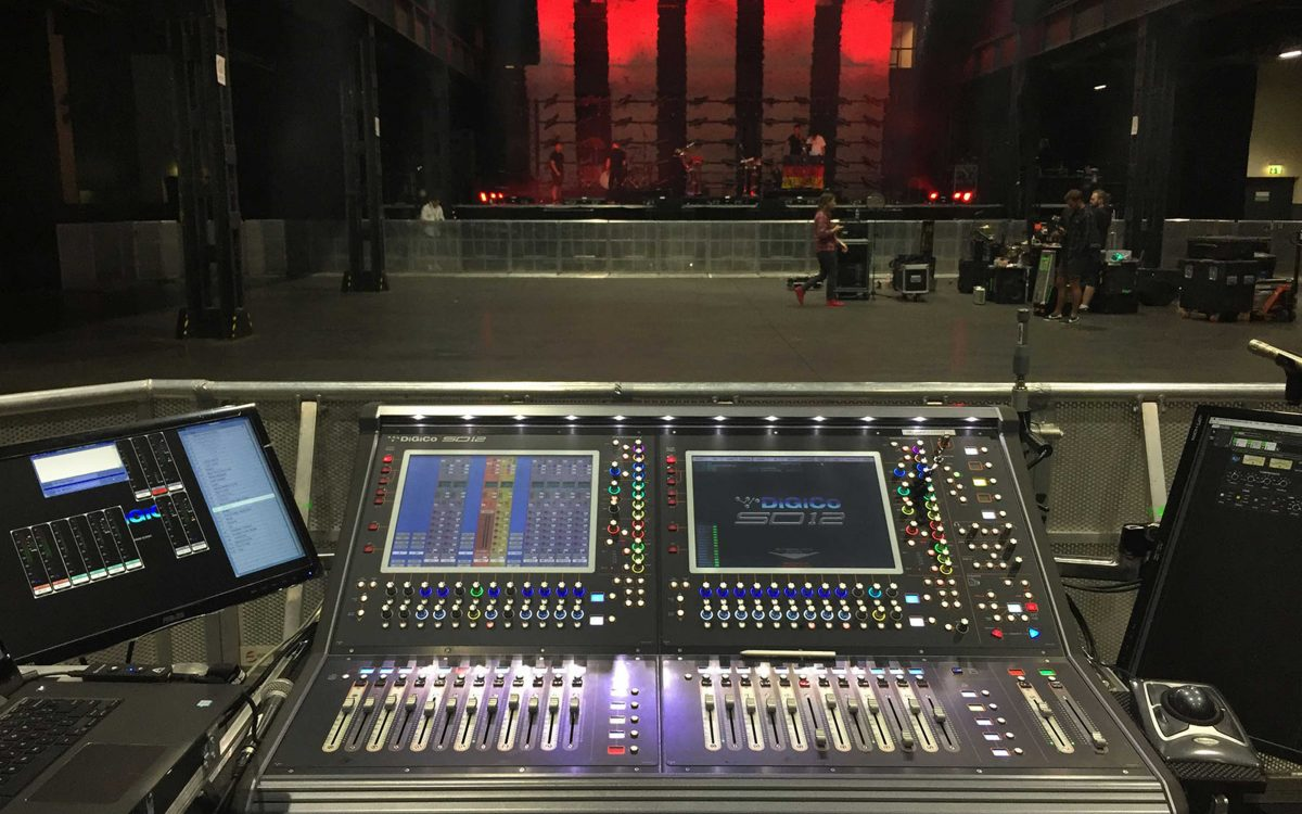 DiGiCo Desks Shine on Mike Shinoda's Solo Tour