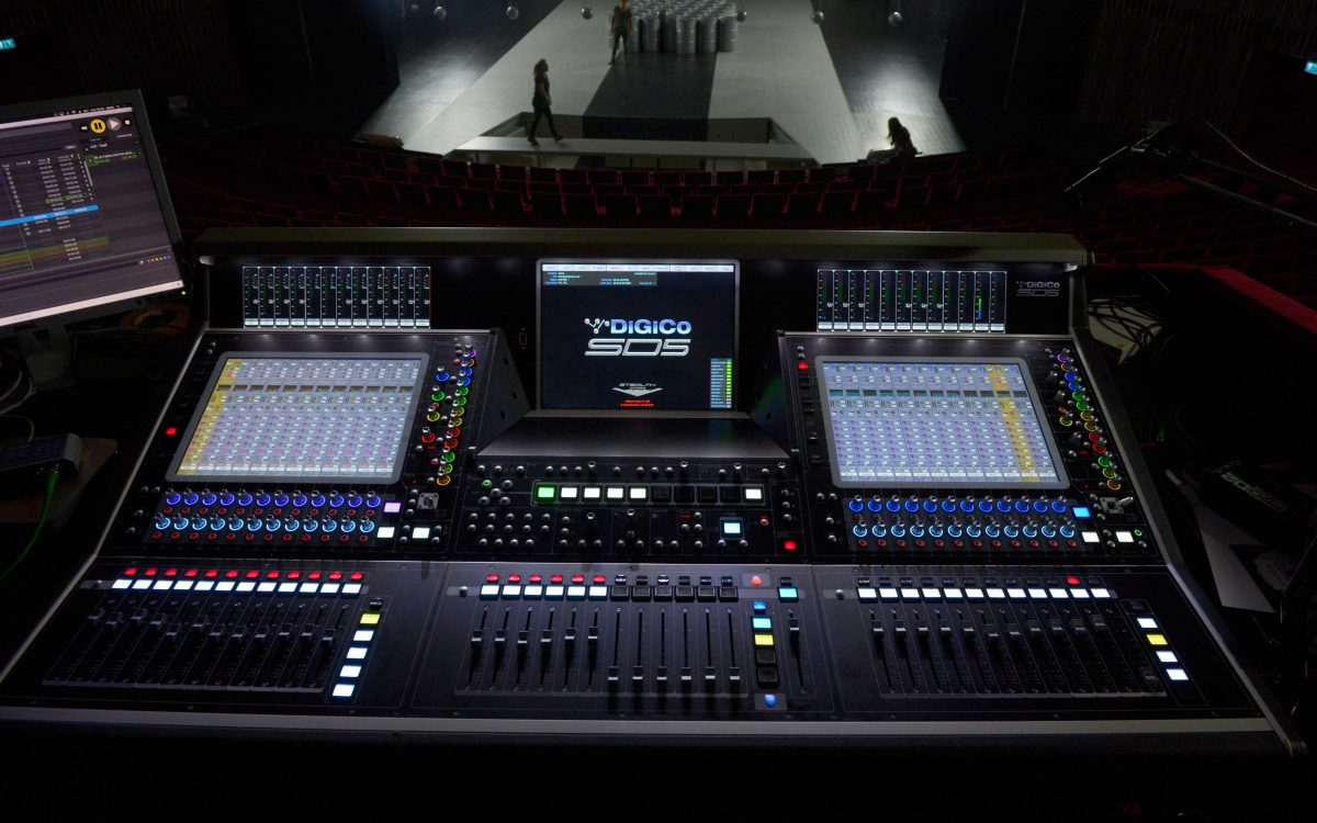 Helsingborg Boasts First DiGiCo SD5 Swedish Theatre Installation