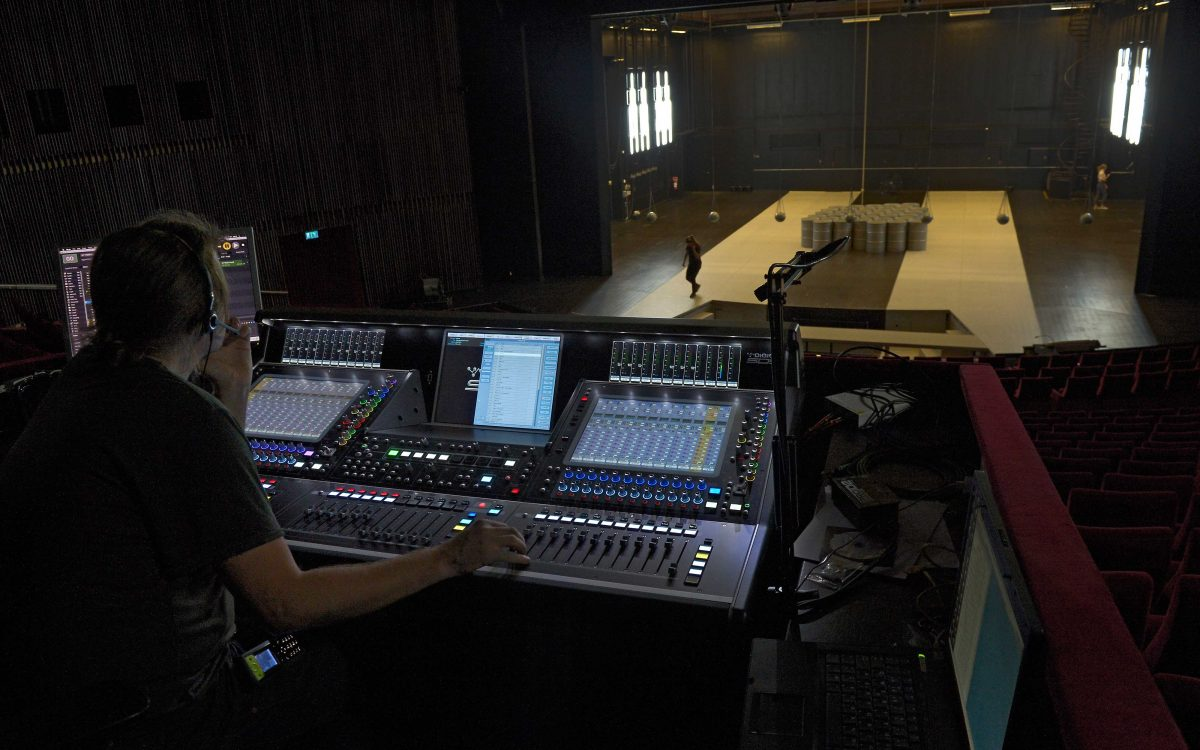 Helsingborg Boasts First DiGiCo SD5 Swedish Theatre Installation