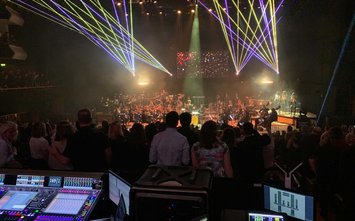 Dance Anthems Remixed Live With Classic DiGiCo Power