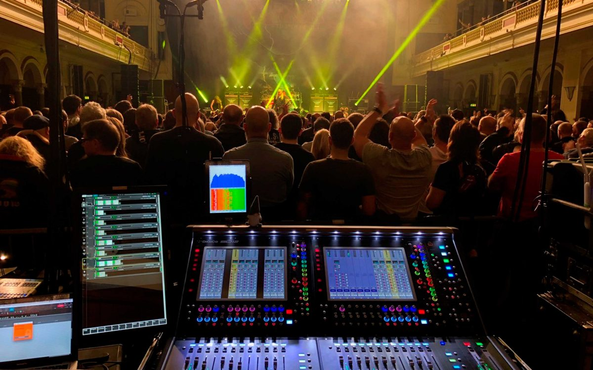 DiGiCo Storms Round Europe On Saxon's Thunderbolt Tour 2018