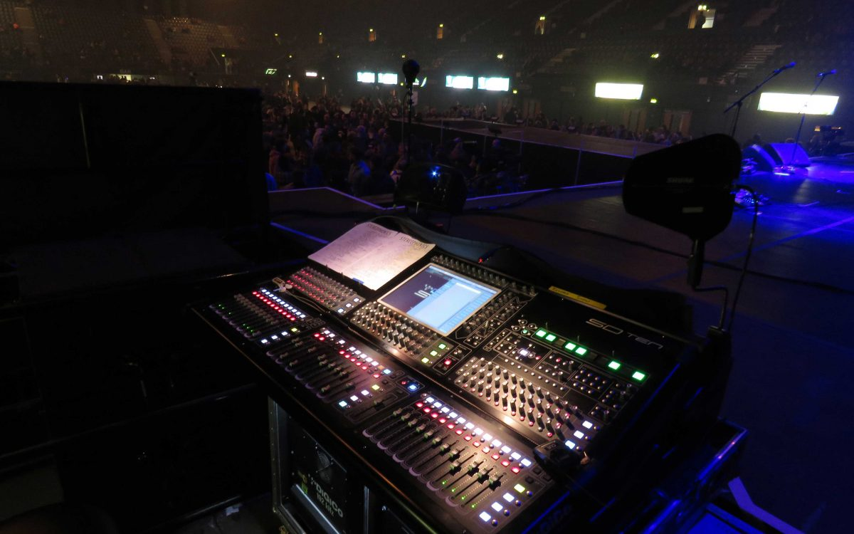 DiGiCo In Control On Stereophonics Tour