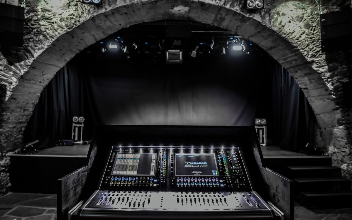 Caves Du Manoir Upgrades With DiGiCo SD12