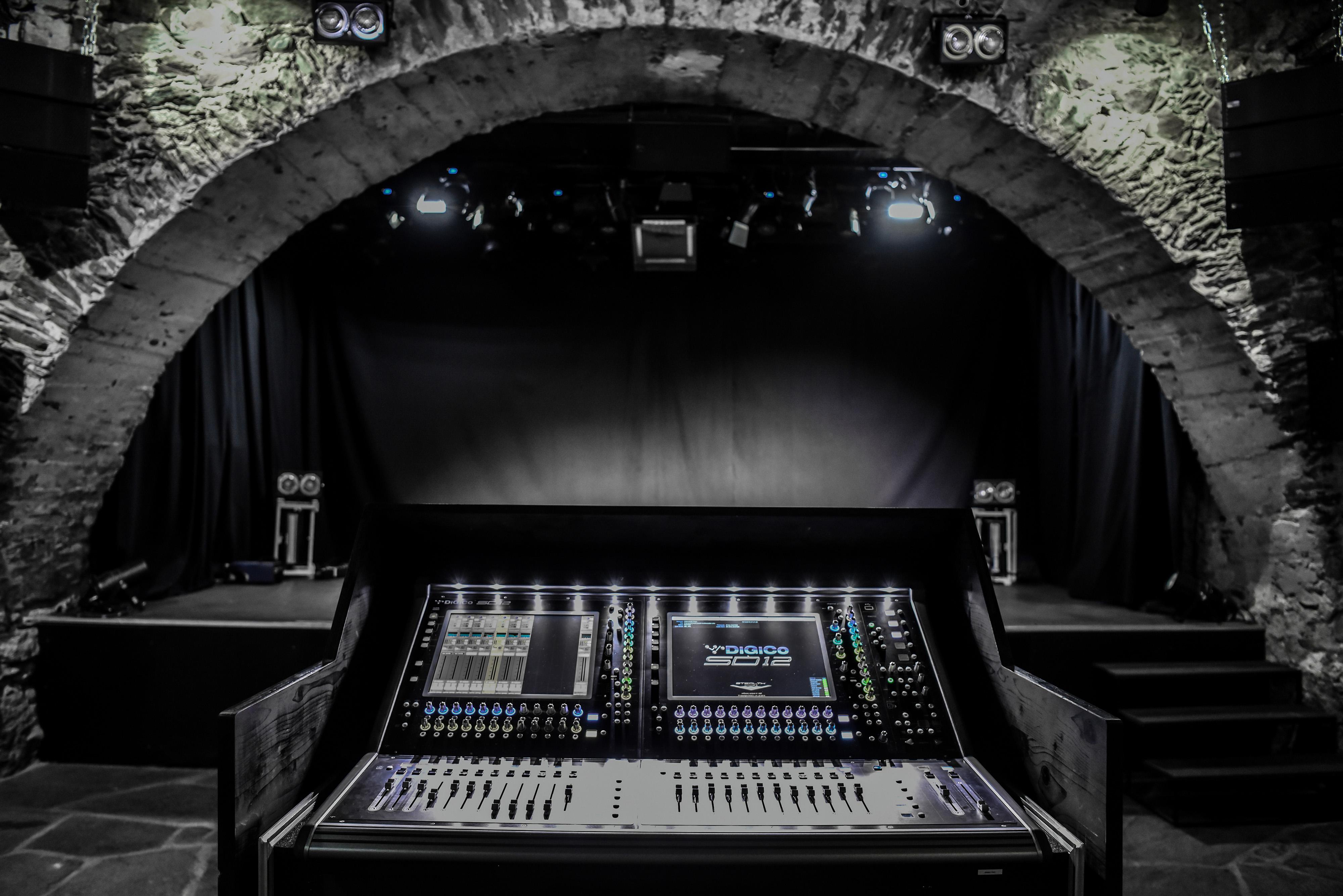 Les Caves Du Manoir caves du manoir upgrades with digico sd12 - digico