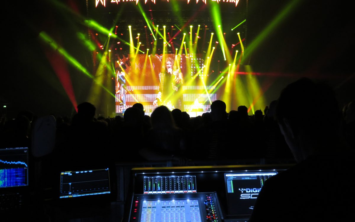 DiGiCo In Demand On Def Leppard World Tour